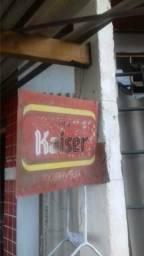 Placa antiga kaiser