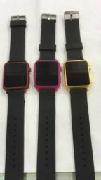 40e26159fcd Relógio Digital Led touch screen