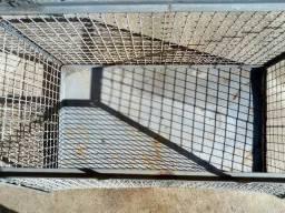 Gaiola, gaiolão para transporte de animais de pequeno porte