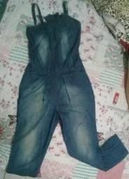Macacão calça jeans Presidium