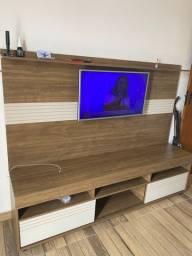 Rack com painel para TV ate 50 polegadas