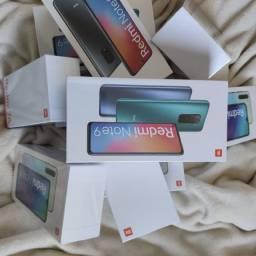 REDMI Note 9 da Xiaomi. Novo Lacradão com garantia e parcelamento no Cartão