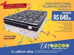 Conj. Casal Sonata Black 26CM Molas Verticoil! , Apenas 649$!Frete Grátis