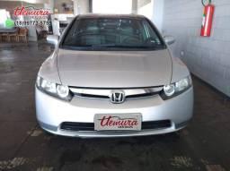 Honda/ Civic LXS - 2008/2008 - Flex - Prata