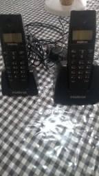 TELEFONE SEM FIO DIGITAL INTELBRAS 2 EM 1