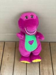 Boneco Pelúcia Barney que canta
