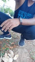 Calça Skinny Jogger estilo Adidas