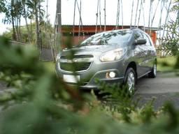 Spin 1.8 ltz aut top placa M pneus novos 7 lugares revisada emplacada vendo troco financio