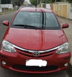 Toyota Etios, 2013, unico  dono, kit GNV G5