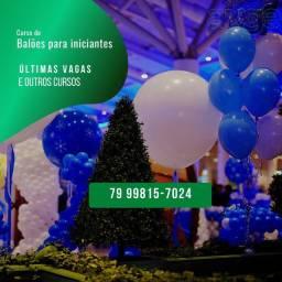 Curso de Balões para Decoração