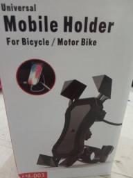 Suporte celular para moto