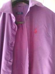 Camisas masculina manga longa