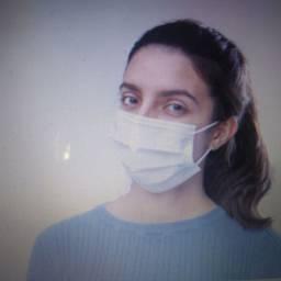 Máscara TNT, tripla camada (não tecido+meltblown+não tecido)
