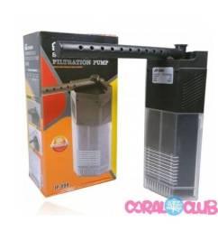 Filtro Interno De Canto C Bomba Sunsun Jp-093 450l/h Aquário