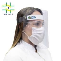 Máscara de Proteção Facial Face Shield Acetato EPI Transparente Leve AC150 - Ortho Pauher