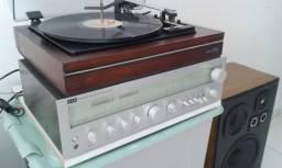 Receiver-Toca discos-CaixasAcústica