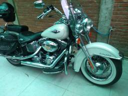 Moto Harley heritge