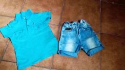 Roupas e calçados todos por 40 reais