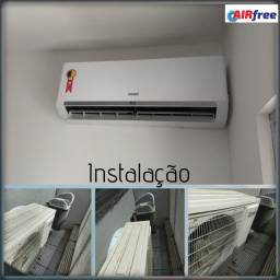 Higienzação, Conserto e Instalação de Ar Condicionado
