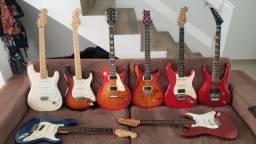 Aceito Trocas! Oportunidade! Fender, Gibson, Prs, Epiphone, Meteoro, Squier e outros