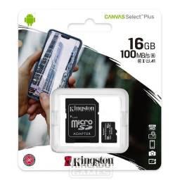 Cartão de memória Kingston 16GB Classe 10