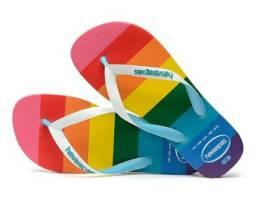Havaianas arco íris