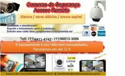 Instale suas câmeras