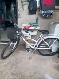 Vendo bicicleta Poti montada muito nova aceito rolo