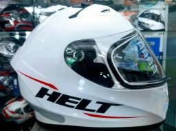 Hobbies Capacete Helt Polar + Brinde Conforto e Segurança Coleções <br>