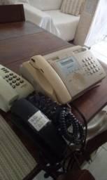 1 mpresora 2 telefone e fone de ouvido valor 100par vender logo