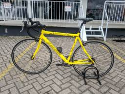 Bicicleta Speed Sundown R54 Shimano Sora Amarela Usada