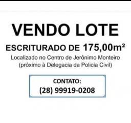 Lote em Jerônimo Monteiro
