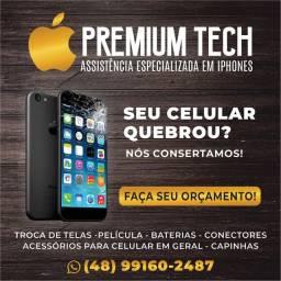 Troca de tela iPhone/Samsung/Motorola/LG/Xiaomi