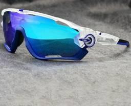 Óculos Oakley Jawbreaker (Com 5 lentes)