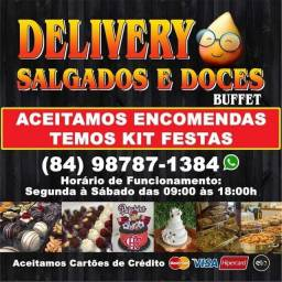 Delivery Salgados e Doces Buffet
