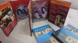 DVDs de Séries famosas - Friends, Grey's Anatomy, Modern Family e Brothers and Sisters