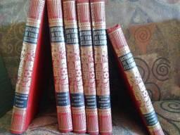 Coleção Livros Antologia de Vidas Célebres- 6 Volumes