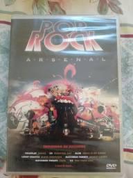 Dvd pop rock  arsenal lacrado original