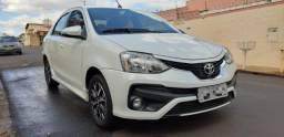 Toyota Etios sedã 1.5 16v Platinum 2017/2018