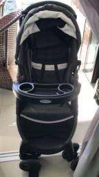 Vendo carrinho Graco com bebê conforto