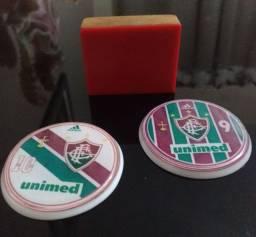Lote Goleiro + Botão Fluminense 50mm