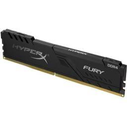 Memória HyperX Fury, 16GB, 2666MHz, DDR4, CL16, Preto