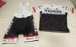 Conjunto ciclista Bretelle Trek Shimano 2xL novo