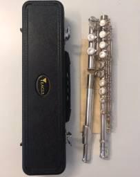 OPORTUNIDADE: Flauta Eagle FL03S com case incluído