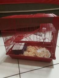 Vendo 2 gaiola para hamster. 1 hamster anao russo