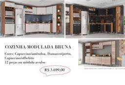 Cozinha Modulada Bruna 12 pçs 3.699,00