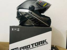 Vendo capacete Pro Tork R8 Aproveite