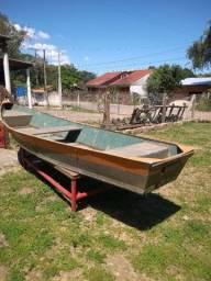 Vendo barco 100% alumínio
