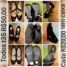 Saltos, sapatilha, rasteirinha e chinelo
