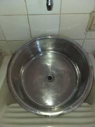 Cuba Redonda Aço Inox 35cm Escape Polida Standard